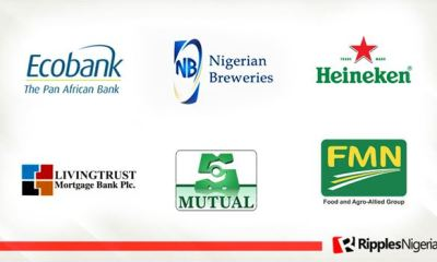 Ecobank, Nigerian Breweries, NNFM, make Ripples Nigeria stocks watch list