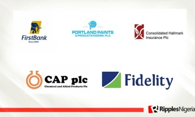First Bank, Portland, CAP Plc make Ripples Nigeria stocks-to-watch list ahead of new investment week
