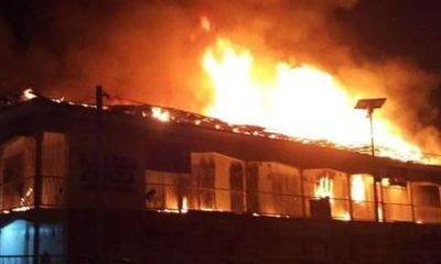 JUST IN... Fire guts Rivers timber market