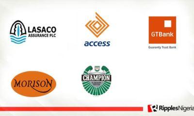 Lasaco, Access Bank, GTBank, Morison, Champions Brew