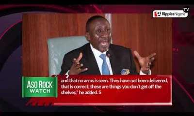 ASO ROCK WATCH: Laundering Buhari presidency