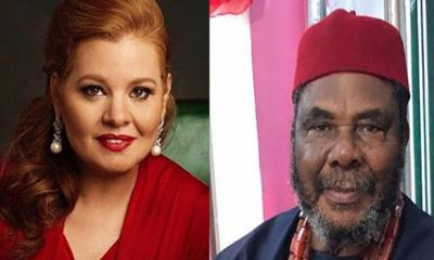 Preacher, Laurie Idahosa apologizes for saying Pete Edochie's Mum was raped for marrying at the age of 15