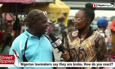 Nigerian lawmakers say they are broke. How do you react?