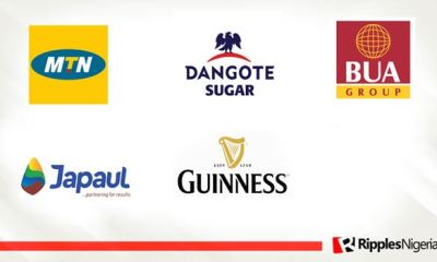 MTN Nigeria, Dangote Sugar, BUA Cement, Japaul Gold, Guinness make Ripples Nigeria stocks-to-watch list