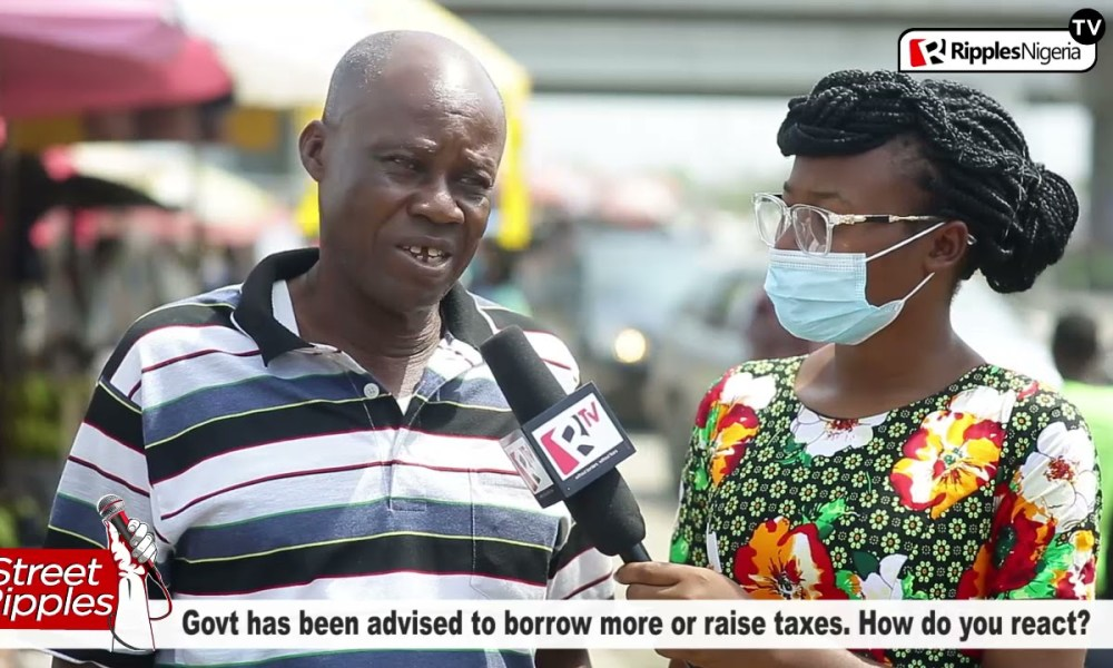 Govt has been advised to borrow more or raise taxes. How do you react?