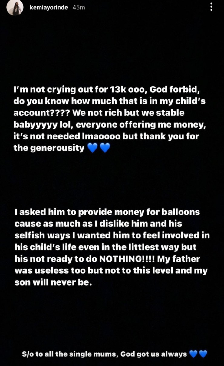 Baby mama calls out singer, Lyta, for being unable to afford balloons for son's birthday