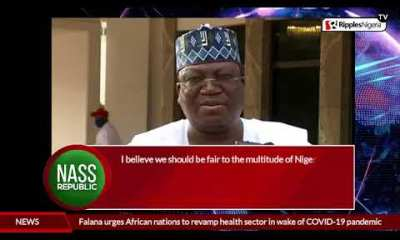 NASS REPUBLIC: Lawan's sweeping claims