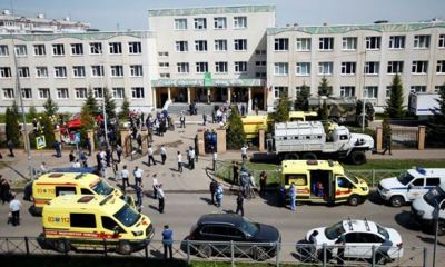 11 dead in Russian school shooting