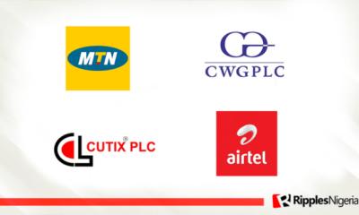 MTN Nigeria, Airtel, CWG, Cutix make Ripples Nigeria stocks-to-watch list