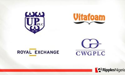 University Press, Vitafoam Nigeria, CWG Plc, Royal Exchange make Ripples Nigeria stocks-to-watch list