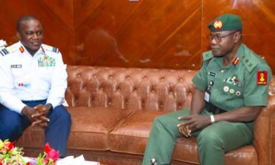 COAS urges cooperation from all Nigerians to solve security challenges