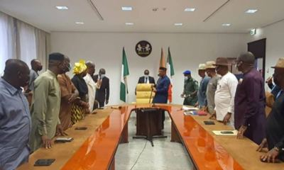 INSECURITY: S'south PDP visits Gov Emmanuel, urges governors to push for state police