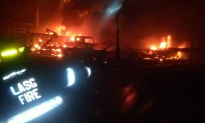 Three corpses recovered after Lagos LPG tanker explosion —NEMA
