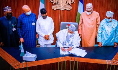 Buhari signs 2021 supplementary budget of N982.7bn