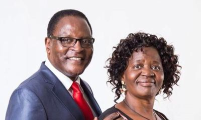 'I need my wife's services', Malawi President explains decision for taking family to virtual conference in London