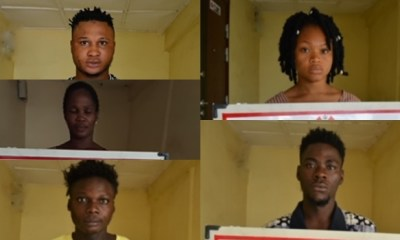 Mother, son, three others arraigned for internet fraud in Kaduna