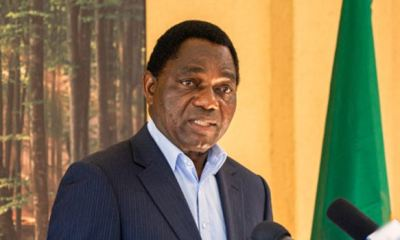 Zambian opposition leader, Hichilema, wins Presidential poll, after sixth attempt