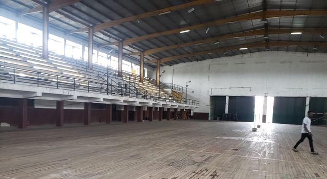 The varsity indoor sports hall