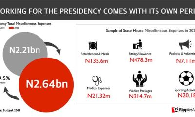 RipplesMetrics: Nigeria's 2022 budget serviced by debts but filled with 'invisibles' that would not be tracked