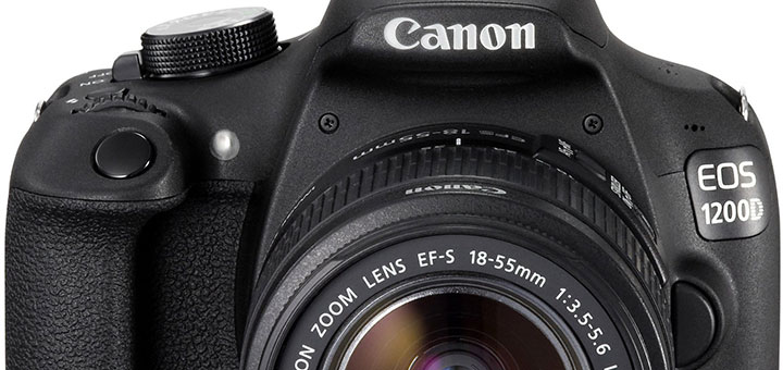 Canon EOS 1200D + Obiettivo EF-S 18-55mm IS II + Buono Vacanza di 100 Euro a 326,69 Euro