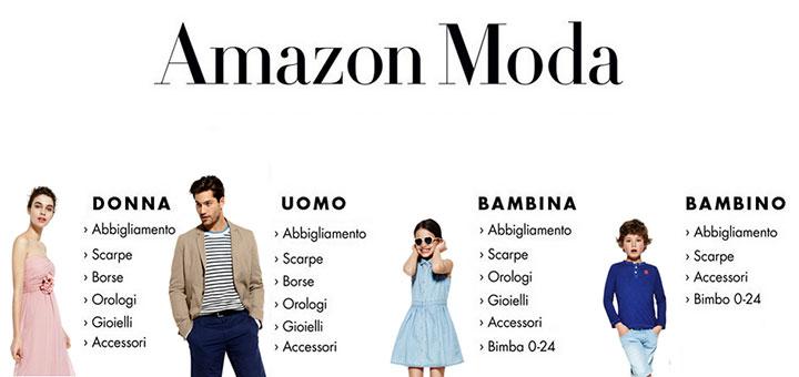 Codice sconto del 20% da utilizzare nel reparto moda di Amazon.it