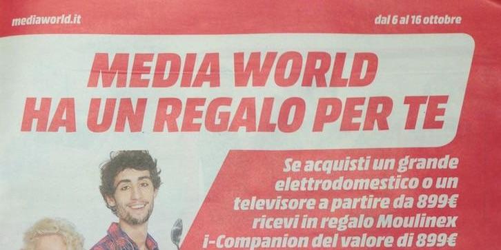 Media World ha un regalo per te (volantino valido dal 6 al 16 ottobre)