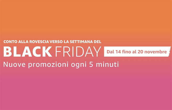 Le migliori offerte di Amazon del 14/11/2016: Countdown to Black Friday