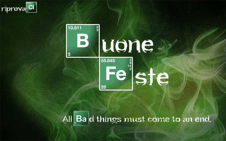 Buone feste da Riprovaci.it