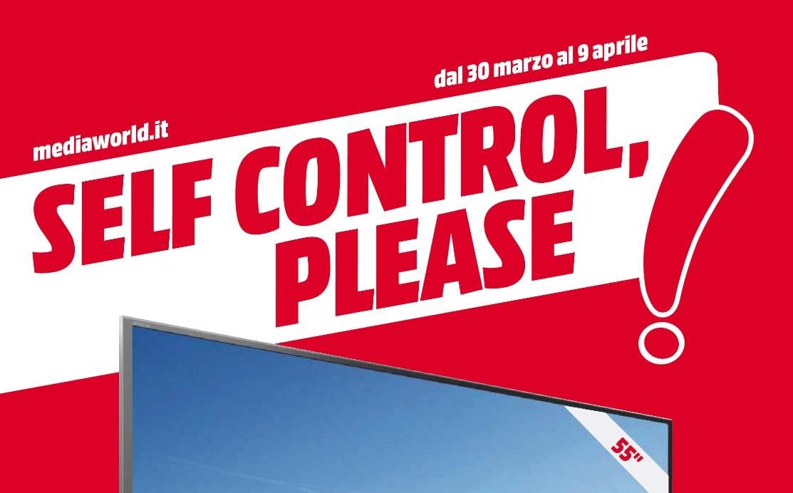 "Nuovo volantino Media World ""Self control please"" – No Man Sky 19,99€ – For Honor 49,99€ – Mirror's Edge Catalyst 19,99€ (agg. 30/03/2017)"