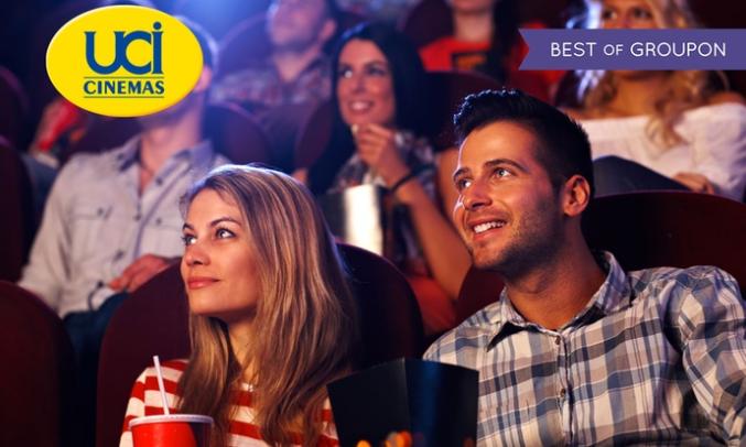 UCI Cinemas: 2 biglietti 2D a 11,90 Euro – 5 biglietti 2D a 19,90 Euro