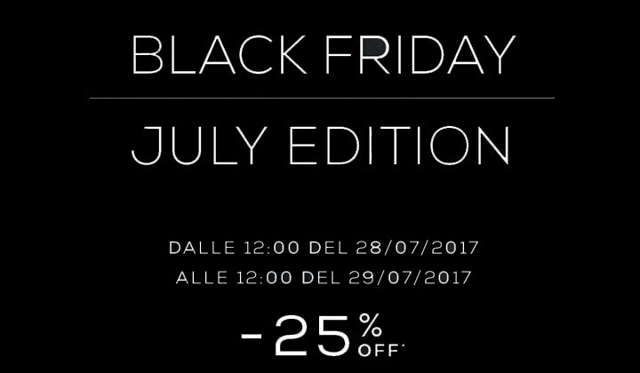 "OVS ""Black Friday"" July Edition"