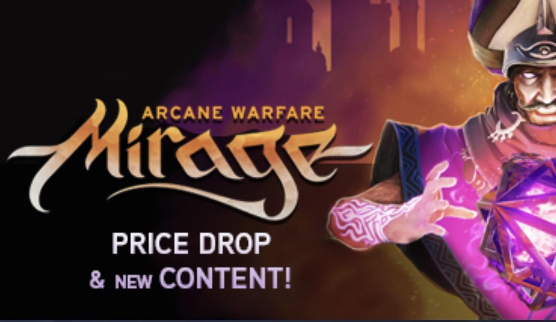 Mirage: Arcane Warfare gratis su Steam solo per oggi