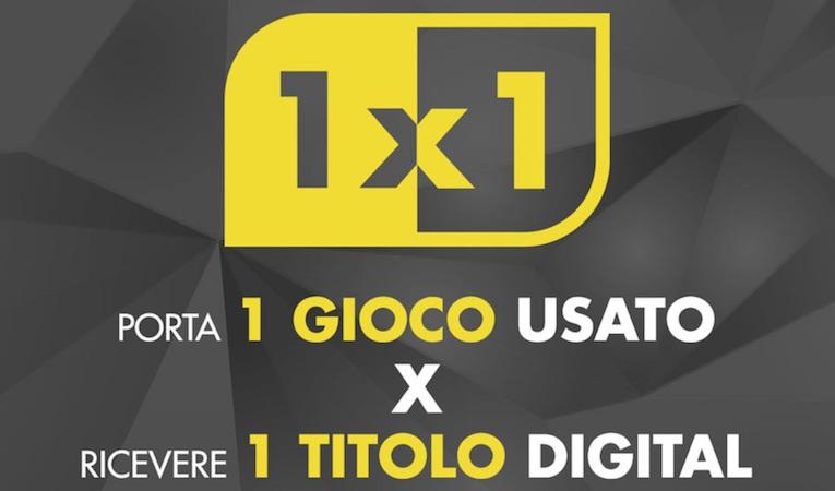 Gamestop: Trade&Save 1×1 Speciale Digital + 5 Euro gioca e riporta