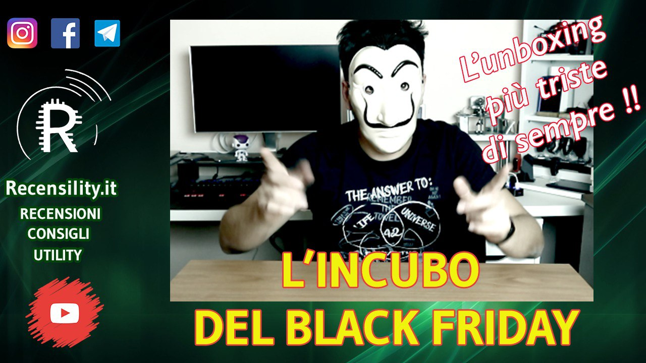 Recensility: l'incubo del Black Friday