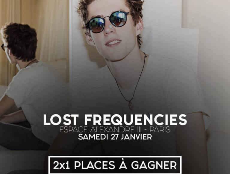Jeux Concours Lost Frequencies 2018