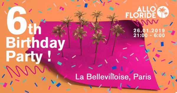 Allo Floride 6th Birthday