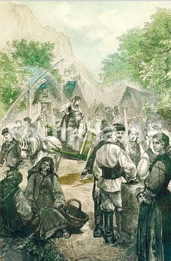 Zi de trg în Transilvania