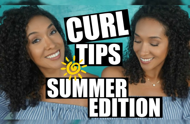Tips For Curly Hair In The Summer