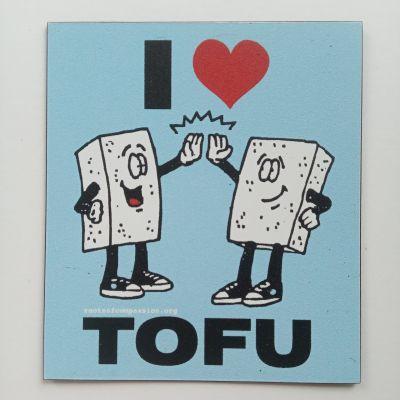 Tofu magnet