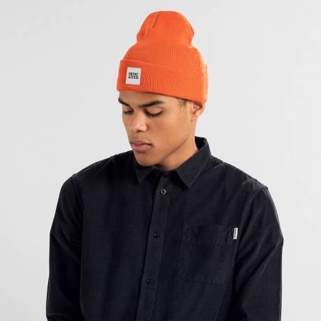 beanie orange 2