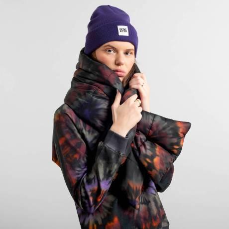 beanie purple 2