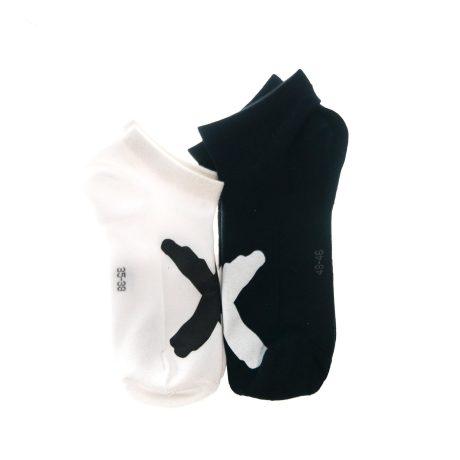 X'd up socks 1