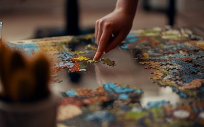 Isn't a Jigsaw puzzle complete ONLY when all its pieces go in where they are meant to be?