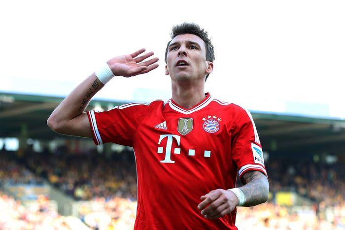 Mario Mandzukic Bayern Monaco Riserva di Lusso