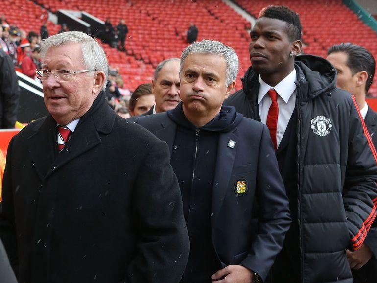 Ferguson, Mourinho e Pogba
