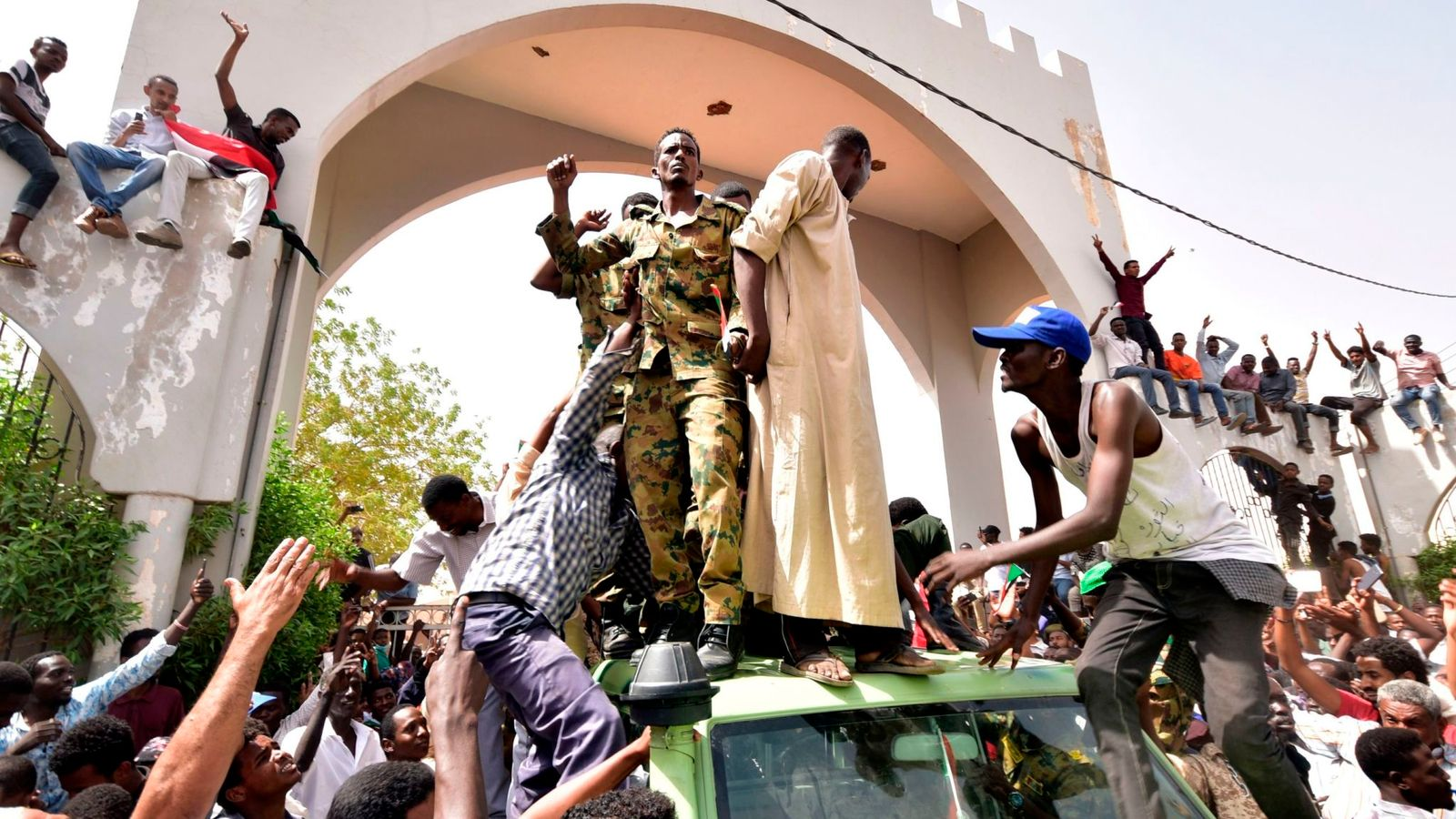 Revolution in Sudan?