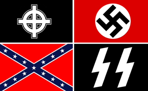 A collection of flags representing different streams of the far-right movement available in the open-source.