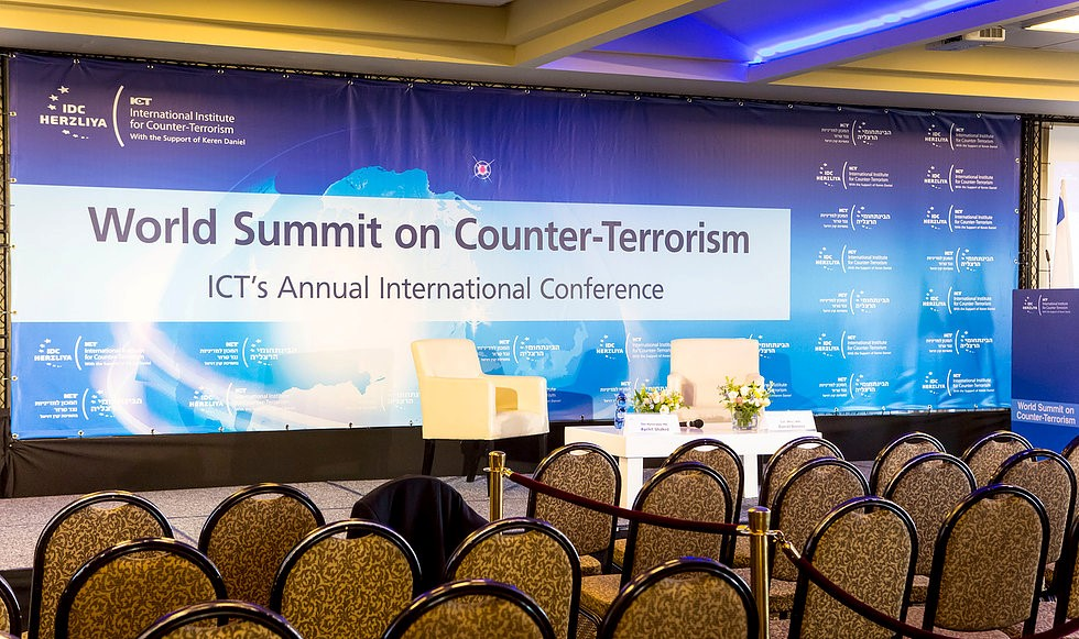 19th Edition of the World Summit on Counter Terrorism in Israel