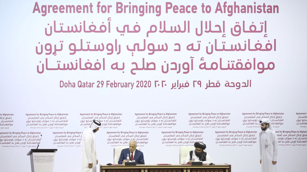Does the Groundbreaking Agreement for Bringing Peace to Afghanistan Go Beyond the Negotiation Table?