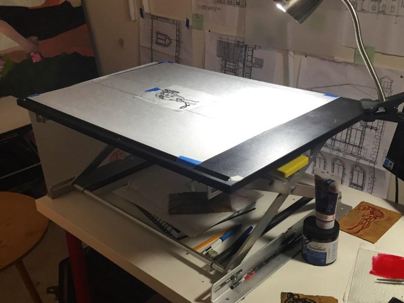 Standing Desk Art Desk